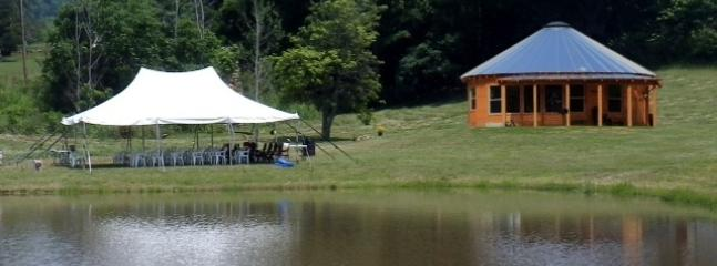 Tent is available for events
