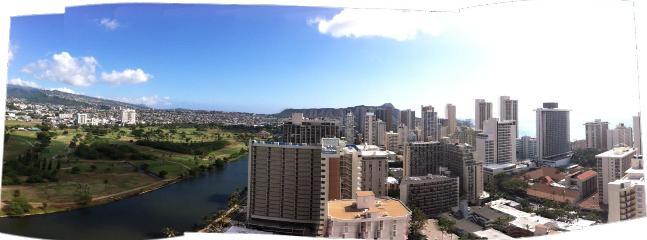 View of Waikiki skyline