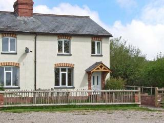 PEACEFUL COTTAGE, character accommodation, woodburner, rural setting, walks on farm in Madley, Ref 15027