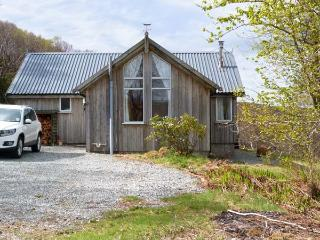THORSVIK, detached wooden cottage, with three bedrooms, stunning views, rural lo