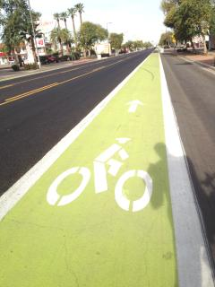 Bikepaths galore will steer you right downtown without touching a busy street the whole way!