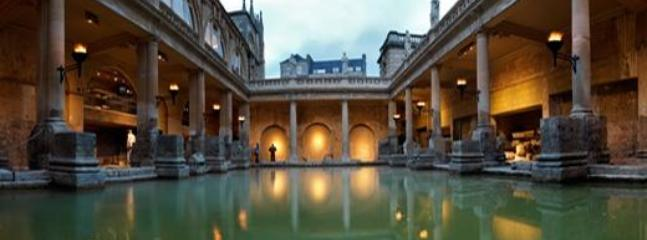 Roman Baths, open daily - a magnificent display of roman artefacts