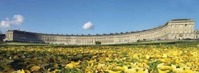 Royal  Crescent , one of the original John Wood crescents for which Bath is famous