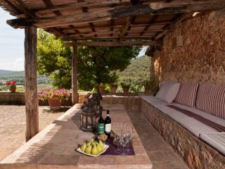 Elegant Farmhouse with a Private Pool and Cook Service in Tuscany - Villa