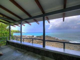 Beachfront in sunny Kona