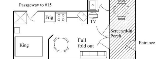 Floor Plan Lake Unit #20