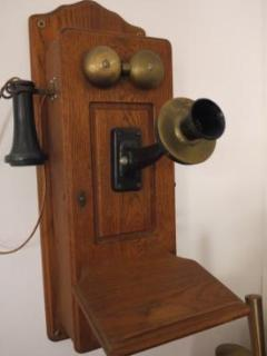 Antique Phone in Entrance Hall