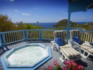 Villa Moonsong-2 Bed/2 Bth with Sunset View & Spa, Cruz Bay