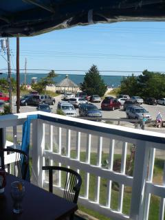 View from veranda in local restaurant (walking distance from the house)
