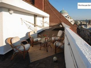 Luxus penthouse for 5 in CityCenter - roof teracce, Belgrado
