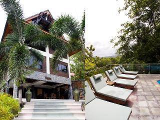 Private pool sea view villa