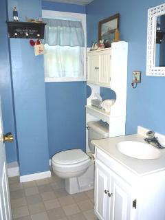 1/2 bath with laundry facilities too
