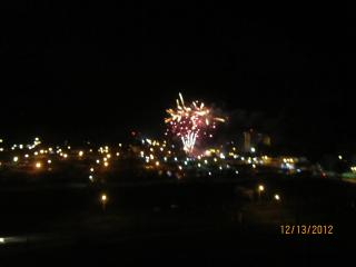 Fireworks in Jaco