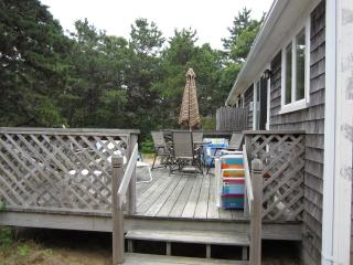 The back deck