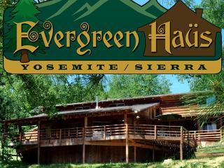Evergreen Haus - Yosemite/Sierra-Mtn Cabin Lodging, Oakhurst