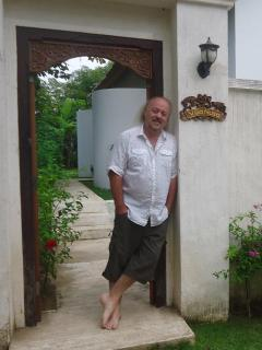 One of Villa Nusa's happy guests