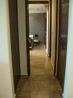 Hallway to Master Bedroom and Bath (private)