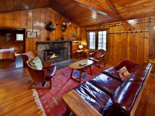 Isolated Creek Side Knotty Pine 1930s Lodge on 575 Acres