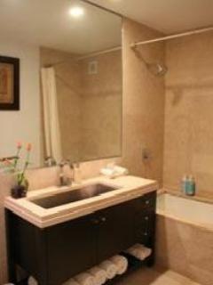 Double Sink, Oversize Bathtub, Powerful Shower