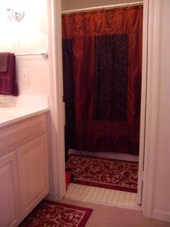 Loft Bathroom with  tub & shower