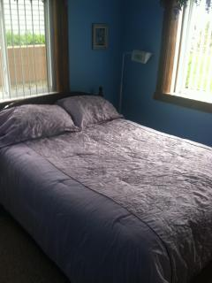 Bedroom #2 is a lovely room with a brand new queen size matress and plenty  storage for clothes