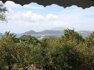 View to St Kitts from the Verandah