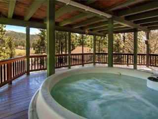 A private lower deck -- take a jacuzzi and enjoy the views!