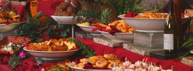hungry? try the buffet at the casino...