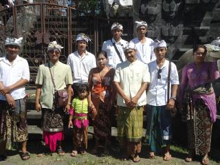 Staff of Villa Beji Indah