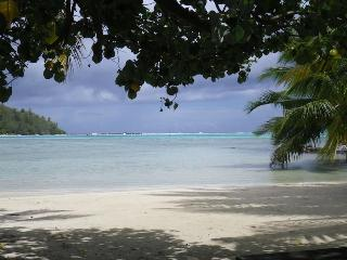 VAI Budget Sea View Bungalow with private beach!!!, Moorea