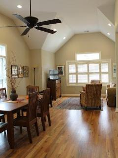 Dining Room into Living Room