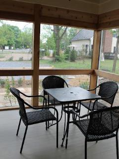 Screened-In Porch - For long-awaited conversations or enjoying a card game on a crisp morning.