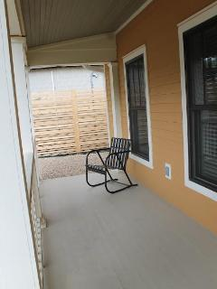 Inviting Front Porch - Sit and watch for your friends and family to arrive.