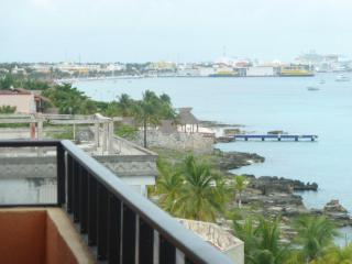 Cozumel Penthouse Condo in Private Oceanfront