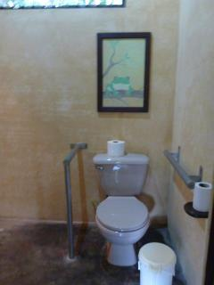 Wheelchair accessible bathroom
