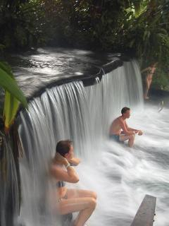 one of the many hot springs you can visit