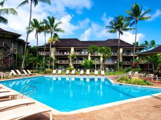 Oceanfront, steps from lawn to beach, easy access, Kapaa