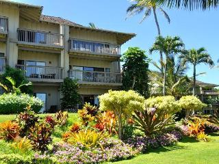 Special Sept-Oct,  FREE luau show for 2. Oceanfront.  Bedroom faces ocean,