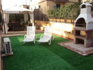Shared terrace and BBQ