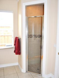 Master shower enclosure