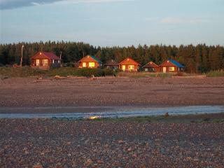View of Cottages from Beach