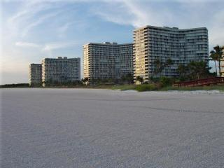 South Seas Towers from Beach
