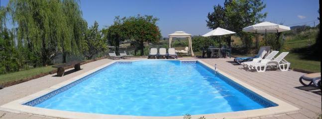 10x5m pool with fab views