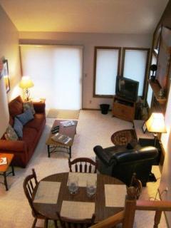 Living room, seen from upper level