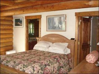 Master Bedroom Includes a Queen Bed and En-Suite Bath