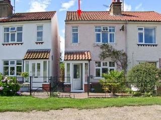 BROOK COTTAGE, with a woodburner and courtyard garden, pet-friendly in Sheringham Ref 18465