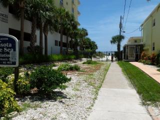 A short walk to the beach
