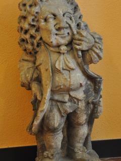 Eighteenth-century Italian sculpture. 'Caricature of a nobleman'