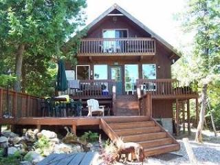 Camp Serendib, Lakefront Cottage,Private,3 bdrms,1.5hrs from Ottawa., vacation rental in Blue Sea