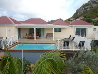 St Barts Two Bedrooms Lovely Villa  With Private Pool and Sea view !